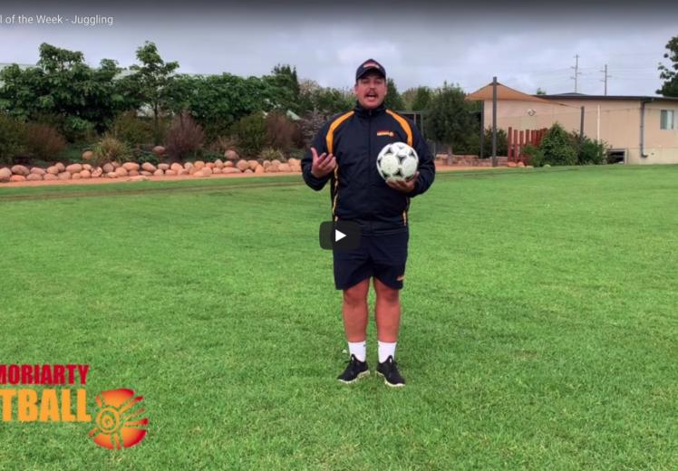 JMF football tips - juggling